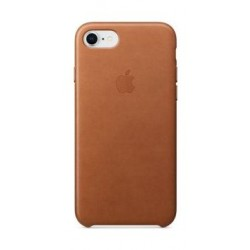 Apple Leather Case For iPhone 7/8 (MQH72ZM/A) - Brown