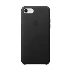 Apple Leather Case For iPhone 7/8 (MQH92ZM/A) - Black