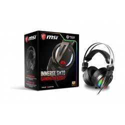 MSI GH70 Stainless Steel HI Res Audio Gaming Headset