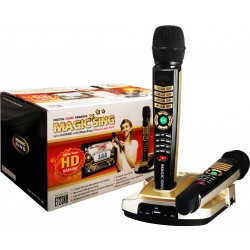Magic Star Magic Sing ET23KH Digital Wireless Karaoke Microphones with Controls