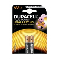Duracell AAA Plus Power Battery - 2 Batteries