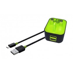 Goui Spot UK Wall Charger + Micro USB Cable - Black