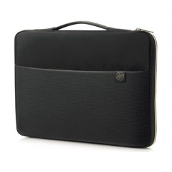 HP 14-inch Carry Sleeve - Black/Gold 4