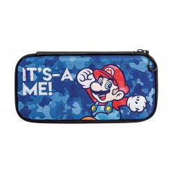 PDP Nintendo Switch Slim Travel Case Mario Camo Edition