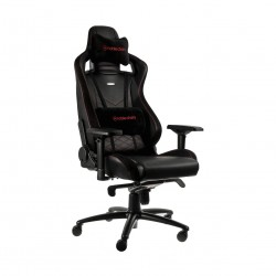 Noble Epic Gaming Chair - Black/Red