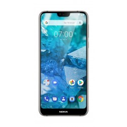 Nokia 7.1 64GB Phone - Steel