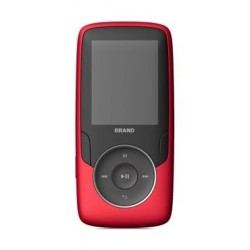 EQ 0223BT Bluetooth with FM 1.8 – inch MP4 Player – Red