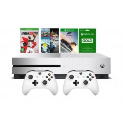 Xbox One S 1TB Console + NBA 2K18 + Forza Horizon 3 + Steep + The Crew Games + Xbox Live Card 3 Months + Controller