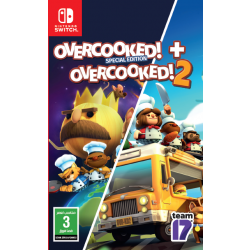 Overcooked! 2 Double Pack - Nintendo Switch Game