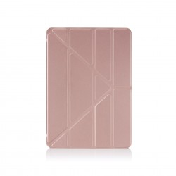 Pipetto Origami Folding Case and Stand for Apple iPad 10.2-inch 2017 - Rose Gold