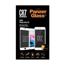 Panzer Glass CR7 Screen Protector For iPhone 6/6s/7/8 (9015) - White