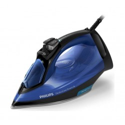 Philps GC392026 2500W Optimal Temp Steam Iron Blue - Front View