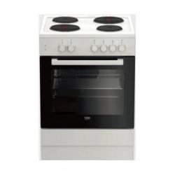 Beko 60X60 4 Burner Free Standing Electric Cooker (FSS66000GW) - White