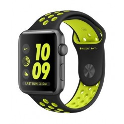 Apple Nike+ 42mm Watch (MP0A2AE/A) - Black / Volt
