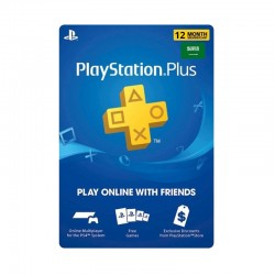 PlayStation Plus - 12 Months Membership (Saudi Store)