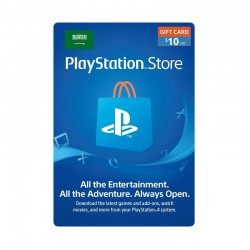 PlayStation Network Card - $10 (Saudi Store)