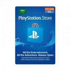 PlayStation Network Card - $15 (Saudi Store)