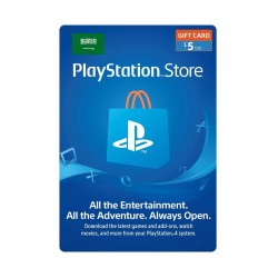 PlayStation Network Card - $5 (Saudi Store)