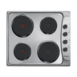 Candy 60CM 4-Burners Electric Hob (PLE64X) - Stainless Steel