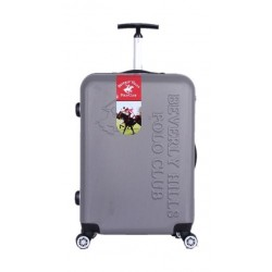 Polo Club Beverly Hills Large Hard Luggage - Grey
