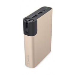 Belkin MIXIT Power RockStar 6600MAH Power Bank (F8M992BTGLD) - Gold