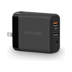 Promate 30W Qualcomm Quick USB Wall Charger - Uni Black