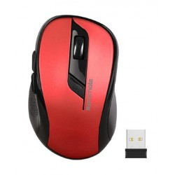 Promate Clix-7 Wireless Optical Mouse - Red