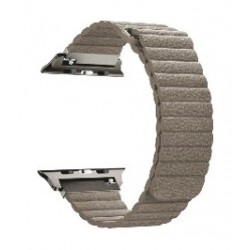 Promate Fiber Strap for 42mm Apple Watch - Beige