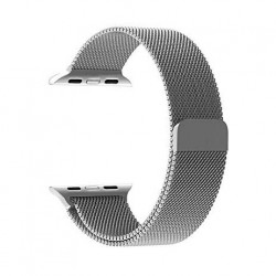 Promate Magnetic Loop For 42mm Apple Watch - Silver