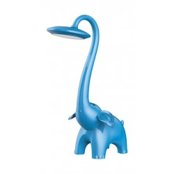 Promate Snorky Touch Control Kids Table and Night LED Lamp - Blue