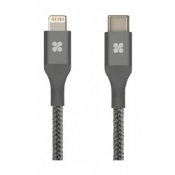 Promate UNILINK-LTC2 Lightning Sync and Charge Cable 2M - Grey