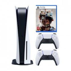 PlayStation 5 with controller and Call of Duty Game in KSA | Buy Online – Xcite