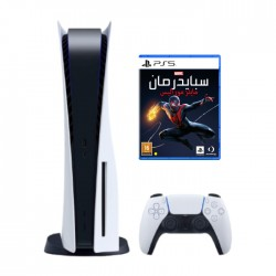 Buy Sony PlayStation 5 Blu-Ray with Spider-Man Game Bundle in KSA | Buy Online – Xcite