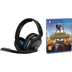 Astro A10 Gaming Headset + Playerunknown's Battlegrounds: PlayStation 4 Game