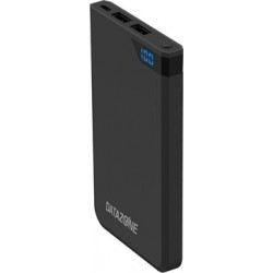 Datazone 10000mAh Powerbank - Black