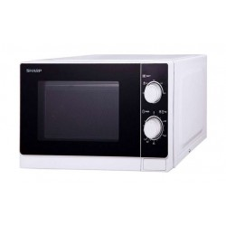 Sharp 20 Litres Microwave Oven (R-20AS W) - White