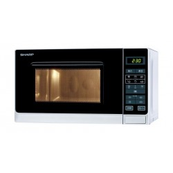 Sharp R-75AS 25 Liters Microwave Oven - Stainless Steel