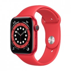 Apple Watch Series 6 GPS 44mm Aluminum Case Smart Watch - Red