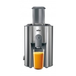 Braun 1000W 1.25L Multiquick 7- Spin Juicer (J700) - Stainless steel/Grey