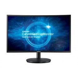 Samsung  LC27FG70FQMXUE  27 inch LED Curved Full HD Gaming Monitor Dark Blue & Black - Front View
