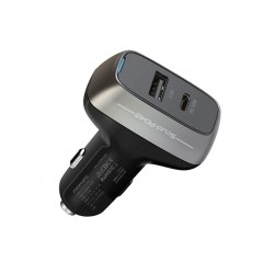 Promate Type-C Car Charger (SCUD-PD42) - Black