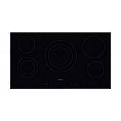 Smeg 90cm Touch Control Ceramic Hob (SE395ETB) - Black
