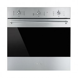 Smeg 60cm 70L Built-In Electric Oven (SF6381X) - Stainless steel
