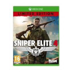 Sniper Elite 4 Limited Edition – Xbox One Game Cover