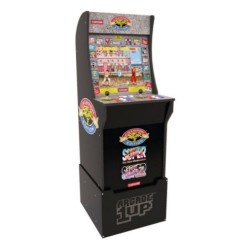 Arcade1Up Street Fighter II Arcade Cabinet with Generic Riser in KSA | Buy Online – Xcite