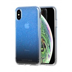 Tech21 Pure Shimmer iPhone XS (T21-6586) - Blue