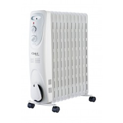 Emjoi Power 11 Fins Oil Heater 2300 Watt - White (UEOR-11R)