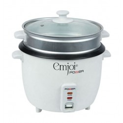 Emjoi 0.6L Rice Cooker With Steamer 700W (UERC-006L)