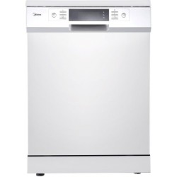 Midea 8 Programs 15 Settings Freestanding Dishwasher (WQP15J7631AW) - White