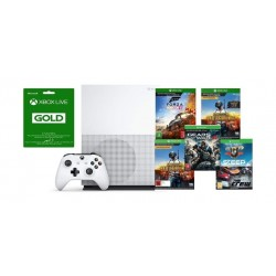 Xbox One S 1TB Console + 3 Months Gold Subscription + 6 Games